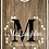 Thumbnail: Laurel Wreath & Monogram Cornhole Boards