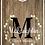 Thumbnail: Laurel Wreath & Monogram Cornhole Boards