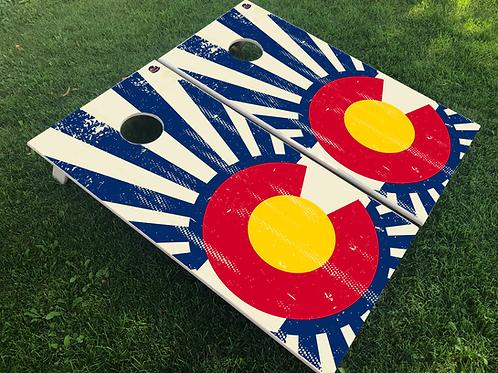 Colorado Sunbeam Cornhole Boards