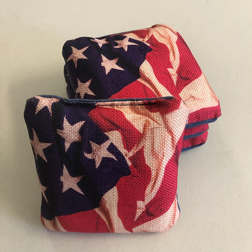American Flag Pro Stick n Slide Style Bag