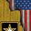 Thumbnail: American Flag/Army Cornhole Boards