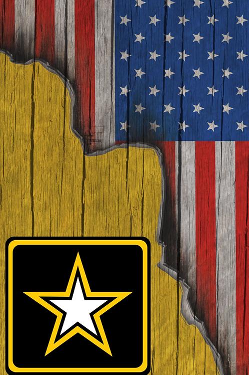 American Flag/Army Cornhole Boards