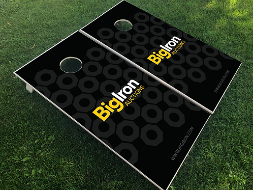 Custom Cornhole Boards and Bags for BigIron