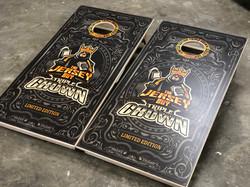 Limited Edition Triple Crown Cornhole Boards