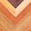 Thumbnail: Herringbone Wood Grain Cornhole Boards