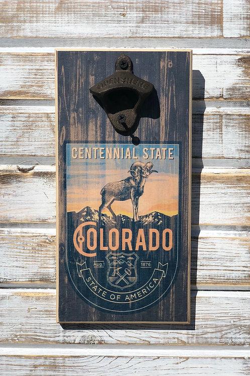 Centennial Ram Bottle Opener