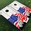 Thumbnail: Patriotic Eagle with Flag Cornhole Boards