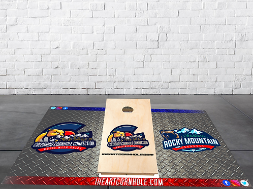 Cornhole Pitch Pads (set of 2)
