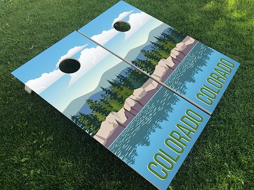 Colorado Poster Style Cornhole Boards