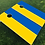 Thumbnail: Ukraine Flag Cornhole Boards
