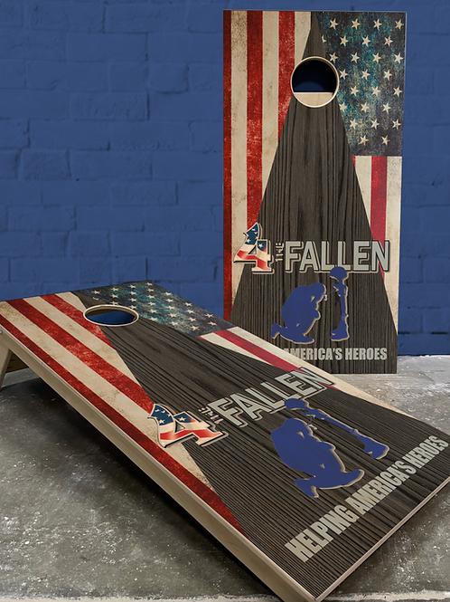4 the Fallen Flag/Black Wood