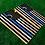 Thumbnail: Blue Line Flag Cornhole Boards