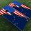 Thumbnail: Alaska American Split Flag Cornhole Boards