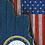 Thumbnail: American Flag/Navy Cornhole Boards