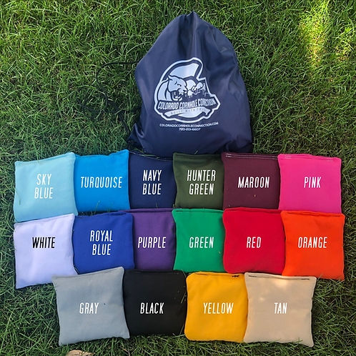 Set of 8 All Weather Cornhole Bags