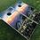 Thumbnail: Mountaintop Wildflower Field Cornhole Boards