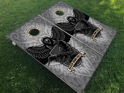 Raven Down Bag Co. Cornhole Boards