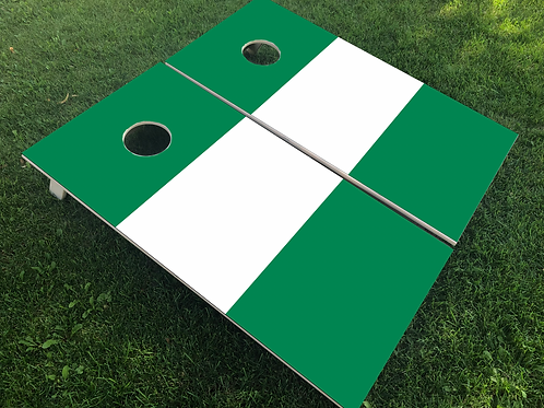 Nigeria Flag Cornhole Boards