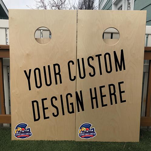 Custom Designed Cornhole Boards