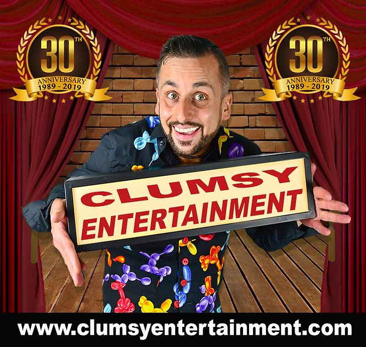 clumsy entertainment www.clumsyentertain