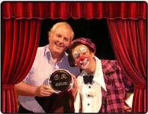 Award winning circus clown  www.clumsyentertainment.com
