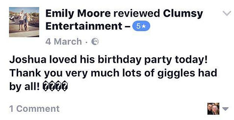 A REVIEW FROM EMILY