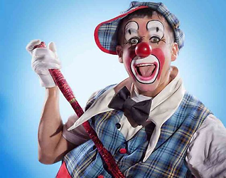 AWARD WINNING CIRCUS CLOWN FROM CLUMSY E
