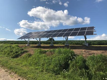 Beautiful Ground Mounted Solar Array