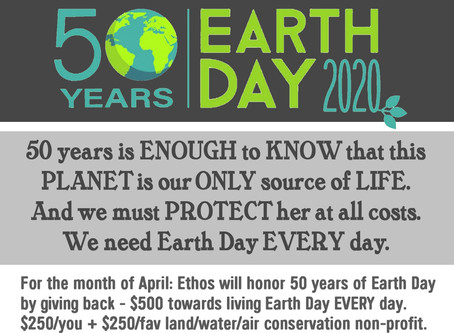 50 years - earth day every day