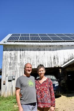 Solar Array to Power Electric Car