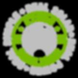 Ethos green power solar logo