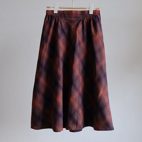 Vintage áčková sukně - S