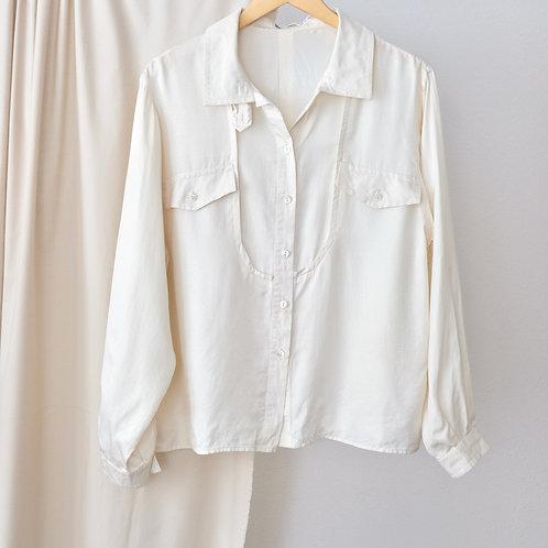 Hedvábná košile - Oversized