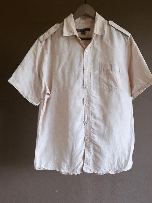 Unisex béžová košile - L