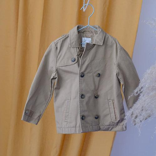 Béžový kabátek 3-4y