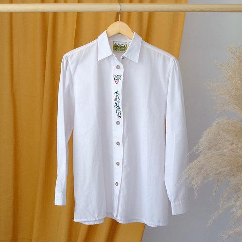 Krojová košile s výšivkami - M