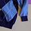 Thumbnail: Modrý károvaný svetr 2-3y