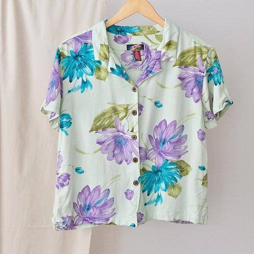 Květinová košile - XL