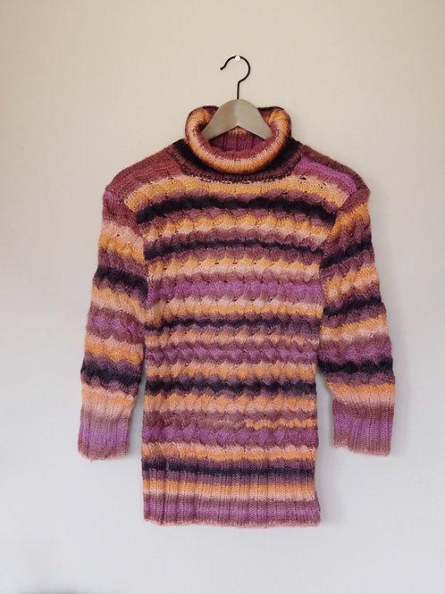 Ručně pletený svetr - S