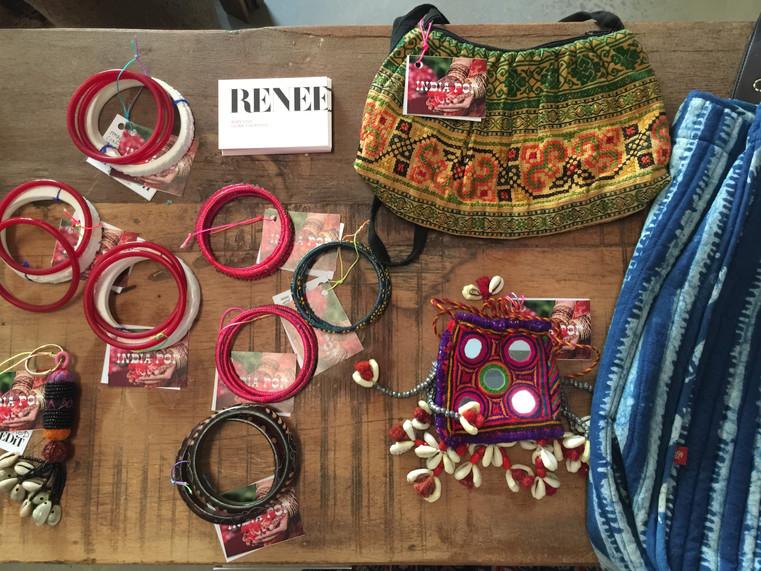Accessories on display at Nilaya House Popup, Dubai