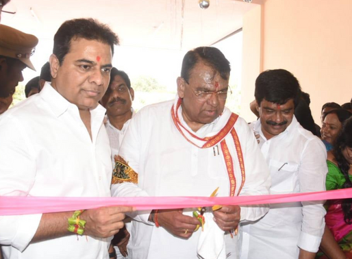 Several development projects in Banswada town: