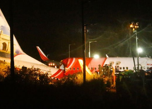14 killed as AI Express plane overshoots runway in Kozhikode