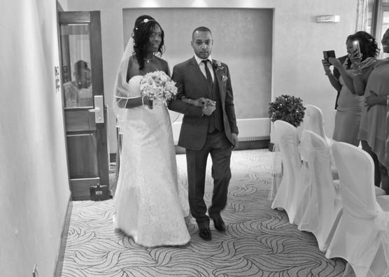 Bromley Court Hotel Wedding Photographer