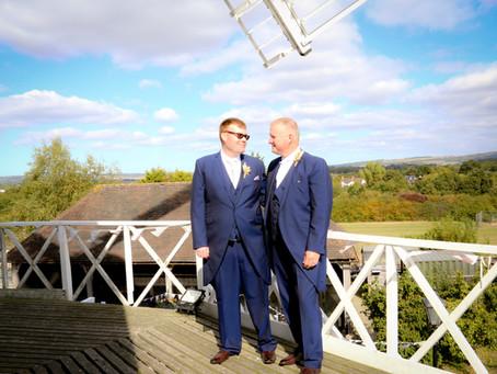 Alex & Wayne - Willesborough Windmill Wedding Photographer