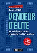Livre Vendeur d'Elite de Michaël Aguilar édité chez Dunod