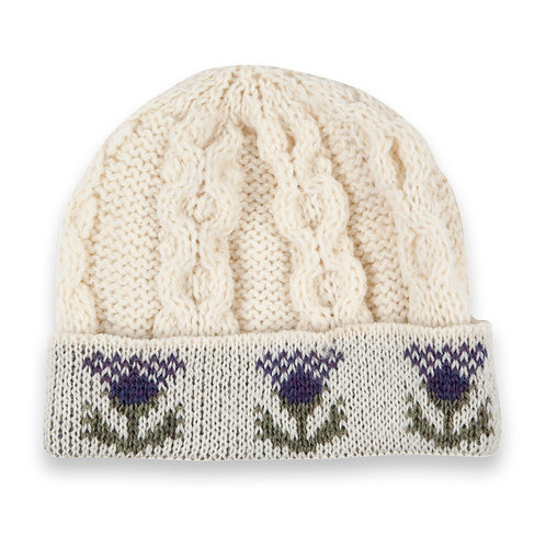 Thistle Hat, 100% British Wool