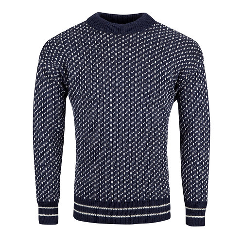 Nordic Unisex Crew Neck Jumper, 100% British wool.