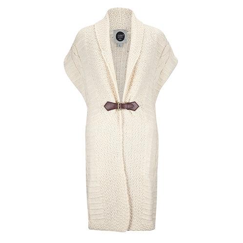 Buckle Cardigan, 100% British Wool
