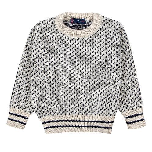 Children's Nordic Crew-neck , 100% British Wool