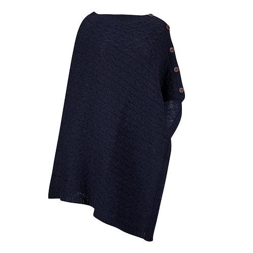 Two-way Poncho, 100% British Wool